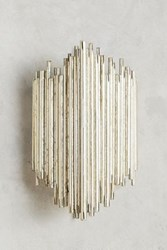 Anthropologie Gathered Glow Sconce Silver