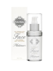Fake Bake Platinum Anti Ageing Face Self Tan Lotion 60Ml