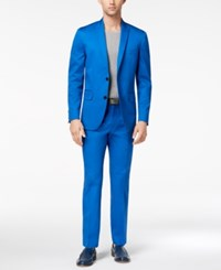 Inc International Concepts Men's Primary Blue Blazer Created For Macy's Riviera Blue