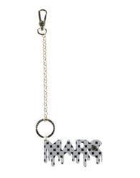 Marc By Marc Jacobs Key Rings Light Grey