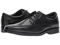 Dockers Endow 2.0 Bike Toe Oxford Black Polished Full Grain Shoes