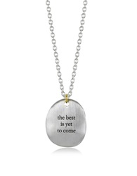 Bjorg The Best Is Yet To Come Necklace Silver