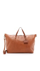 Madewell The Transport Weekender English Saddle