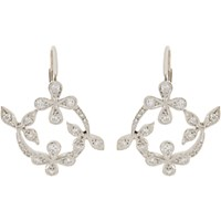 Cathy Waterman Women's Lace Drop Earrings No Color