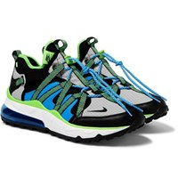 Nike Air Max 270 Bowfin Mesh And Nylon Sneakers Blue