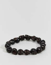 Jack And Jones Jack And Jones Skull Bracelet Black