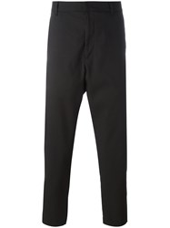 Mcq By Alexander Mcqueen Cropped Trousers Black