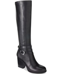 Bar Iii Paisley Tall Boots Only At Macy's Women's Shoes Black