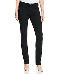 7 For All Mankind B Air Kimmie Straight Leg Jeans In Black