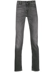 7 For All Mankind Ronnie Skinny Jeans Grey