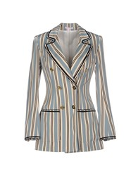 Olympia Le Tan Suits And Jackets Blazers Women Ivory