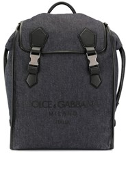 Dolce And Gabbana Logo Embossed Backpack 60