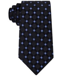 Michael Kors Men's Satin Neat Tie Black