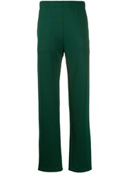 Acne Studios Face Patch Track Trousers Green