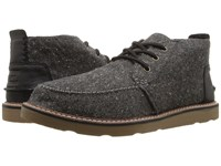 Toms Chukka Boot Charcoal Fleck Men's Lace Up Boots Black