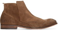 Hudson Brown Suede Lennox Boots