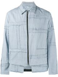 By Walid Julien Jacket Blue