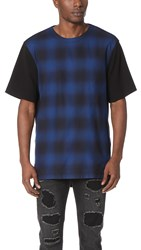 Helmut Lang Gradient Plaid Tee