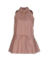 Alaia Alaia Shirts Shirts Women Light Brown
