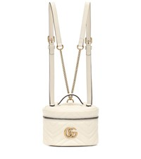 Gucci Gg Marmont Mini Backpack White