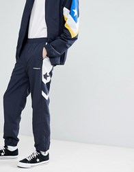 Converse Colour Block Joggers In Navy 10006474 A02