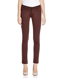 Jash World Ponte Skinny Pants Dark Brown