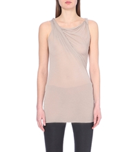Drkshdw Twisted Jersey Top Pearl