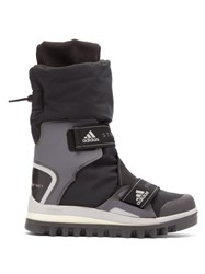 Adidas By Stella Mccartney Technical Logo Jacquard Boots Black