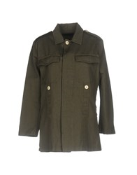 People Shirts Military Green