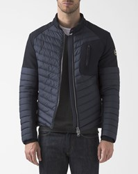 Colmar Blue Neoprene Blend Padded Down Jacket