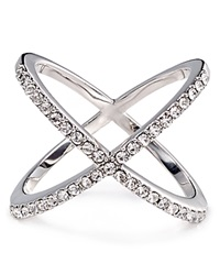 Baublebar Mason Cross Ring Silver