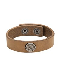 Diesel Camel Shoot Bracelet With Iroquois Coin