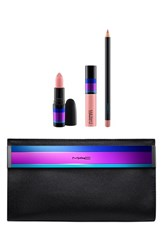 M A C Mac 'Enchanted Eve Nude' Lip Bag Limited Edition 48.50 Value