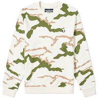 Fred Perry X Arktis Camo Sweat White