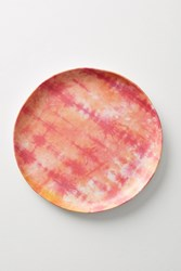 Anthropologie Mesa Melamine Plate Coral