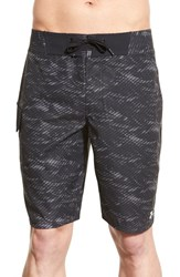 Men's Under Armour 'Reblek Ua Storm' Water Repellent Board Shorts Granite Amalgam Gray
