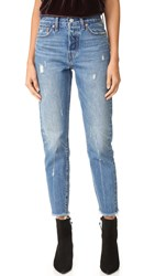Levi's Wedgie Icon Jeans Crisp Winds