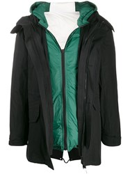 Yves Salomon Layered Padded Coat 60
