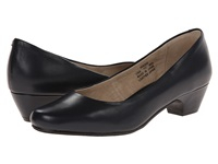 Propet Taxi Navy Women's Flat Shoes