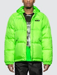 Misbhv Europa Down Jacket Green