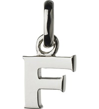 Links Of London Alphabet F Sterling Silver Charm