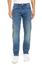 Vigoss Men's Slim Straight Leg Jeans Tint Light