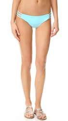 L Space Low Down Bikini Bottoms Lagoon
