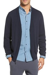 Vince Men's Zip Front Cotton Cardigan