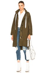 Rag And Bone Voltaire Parka In Green