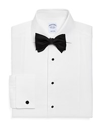 Brooks Brothers Formal Pique Bib Classic Fit Dress Shirt