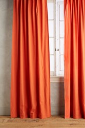Anthropologie Parker Curtain Red