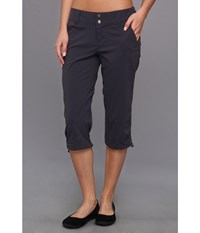 Columbia Saturday Trail Ii Knee Pant India Ink Women's Capri Gray