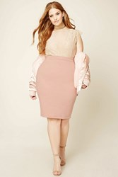 Forever 21 Plus Size Stretch Pencil Skirt