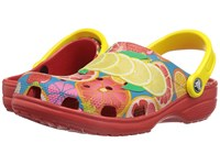 Crocs Classic Fruit Ii Clog Flame Clog Mule Shoes Orange
